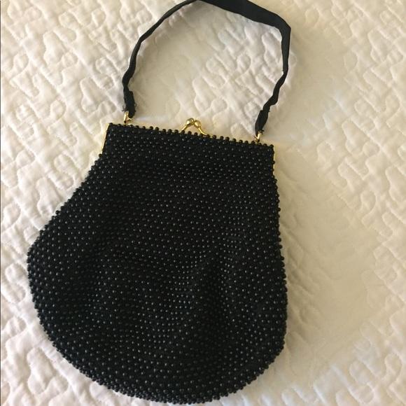 Vintage Handbags - Vintage Bead hand bag